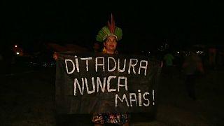 Milhares de indígenas manifestam-se contra Bolsonaro em Brasília