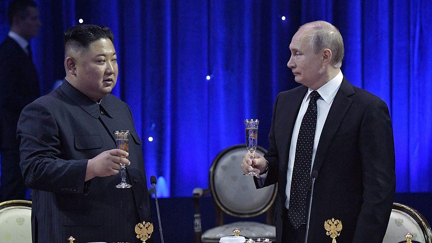Vladimir Poutine et Kim Jong Un discutent des garanties de sécurité lors du premier sommet