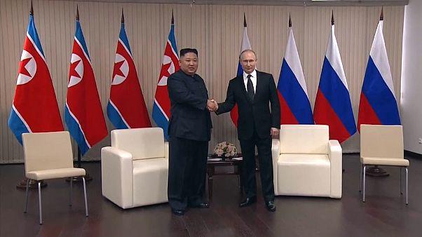 Πούτιν - Κιμ: «Ναι» στην αποπυρηνικοποίηση αλλα...