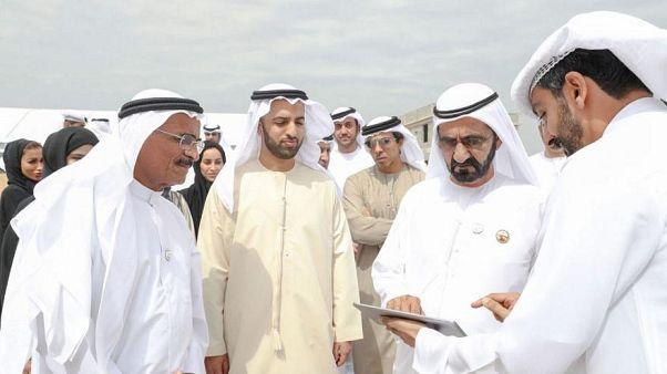 نائب رئيس دولة الإمارات وحاكم دبي الشيخ محمد بن راشد آل مكتوم