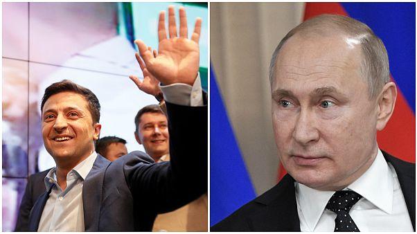 """اختبارٌ روسي مبكّر للرئيس الأوكراني من خلال """"جوازات سفر"""""""