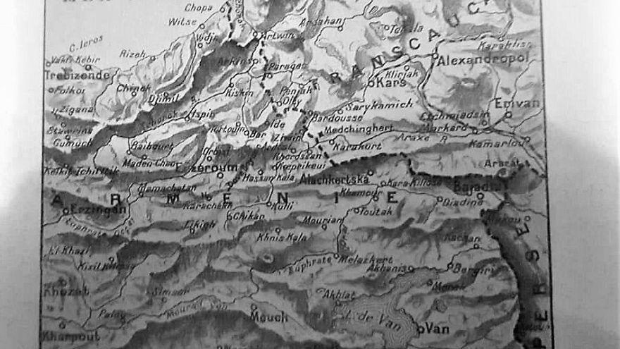Fransız L'illustration, 1915'te Doğu Karadeniz ve Doğu Anadolu'yu Ermenistan olarak göstermiş