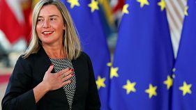 موگرینی: هدف اروپا جلوگیری از هرگونه آتش افروزی نظامی درخاورمیانه است