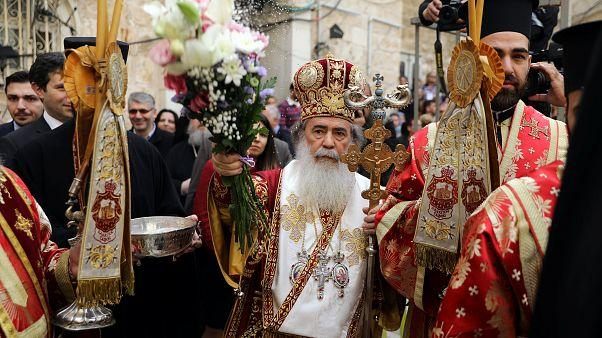 Ιεροσόλυμα: Η τελετή του νιπτήρος παρουσία πλήθους πιστών