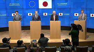 Cumbre entre la UE y Japón para respaldar el libre comercio