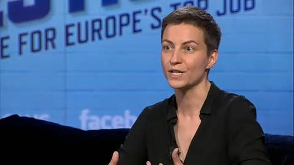 À conversa com a candidata à Comissão Europeia Ska Keller