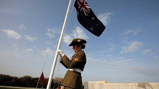 Australiens et Néo-Zélandais célèbrent l'Anzac Day