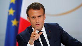 Macron: Hükümetimiz siyasal İslam karşısında taviz vermeyecek