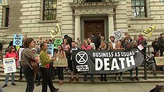 Concluyen las protestas ecologistas de Londres