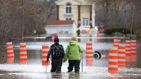 Inondations à Gatineau (Québec, Canada), 24 avril 2019