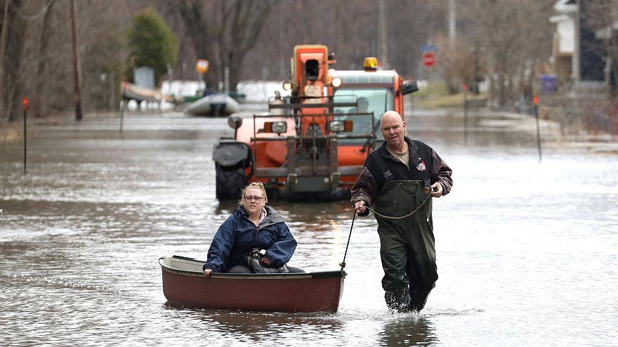 أوتاوا تواجه ارتفاعاً في منسوب المياه بسبب الفيضانات.. وإعلان الطوارئ
