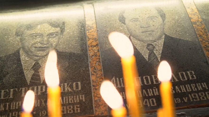 Csernobili emlékezés