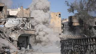 شهر رقه سوریه در اکتبر ۲۰۱۷