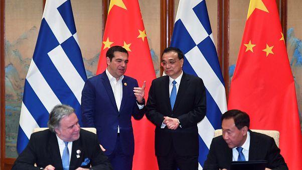 Α. Τσίπρας από την Κίνα: Η Ελλάδα γέφυρα και όχι σύνορο Δύσης - Ανατολής