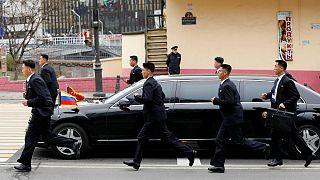 خودرو لوکس کیم جونگ اون رهبر کره شمالی در دیدار از روسیه