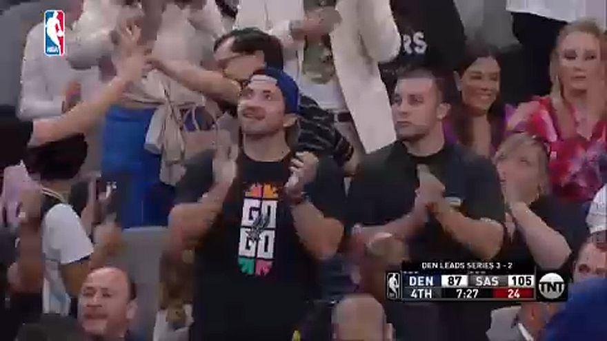 """НБА: """"Спёрс"""" - """"Наггетс"""" 120:103"""