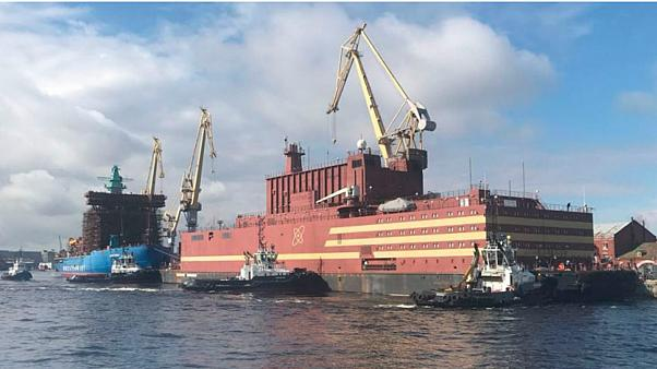 Russia prepares to commission 'world's first' floating nuclear plant