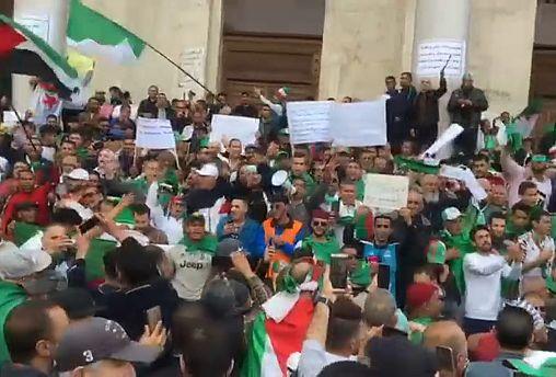 Décimo viernes de manifestaciones masivas en Argelia
