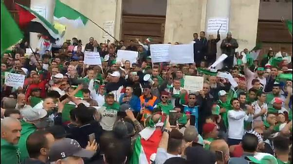 A politikai elit távozását követelik Algériában