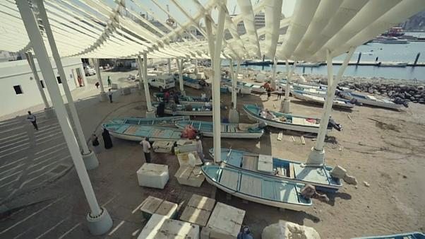 Muttrah fish market in Muscat has been designed for tourism and tradition