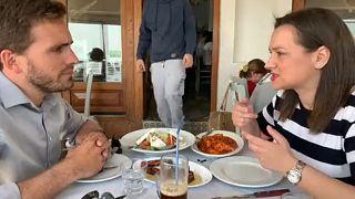 #EUroadtrip - Griechenland-Fazit in der Taverne