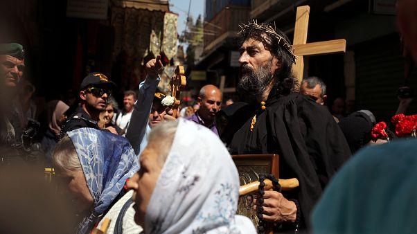 Православные отметили Страстную пятницу