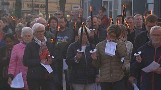 Trauermarsch in Dänemark für drei auf Sri Lanka getötete Kinder