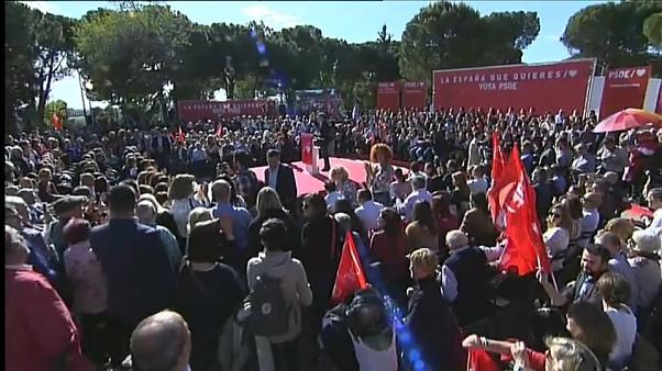 Wahlkampfende in Spanien