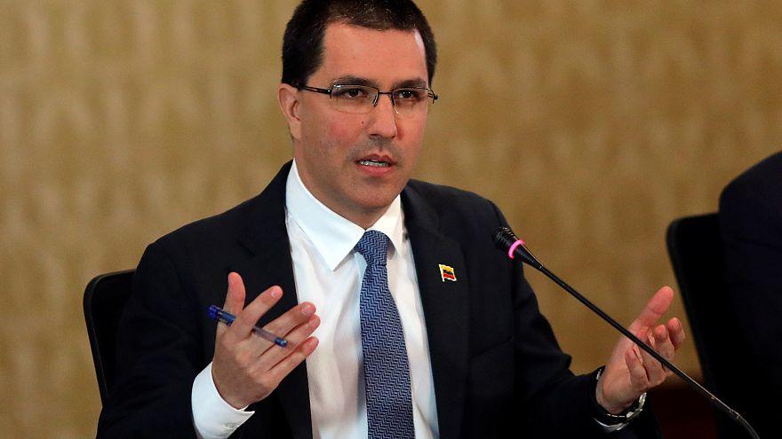 الولايات المتحدة تفرض عقوبات على وزير الخارجية الفنزويلي