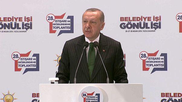 Erdoğan: Parti içinde yanlış yapanlar var, bunun hesabını soracağız