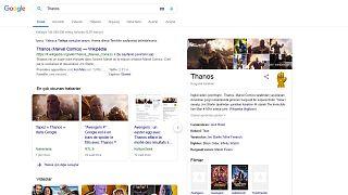 Google'ın Avengers Endgame için hazırladığı Thanos sürprizi: 'Sonsuzluk Eldiveni'ni tıklayın
