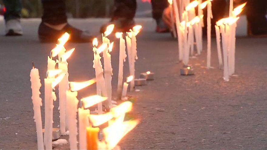 ویدئو؛ راهپیمایی صدها نفر در محکومیت نخستین مورد قتلهای زنجیرهای در قبرس