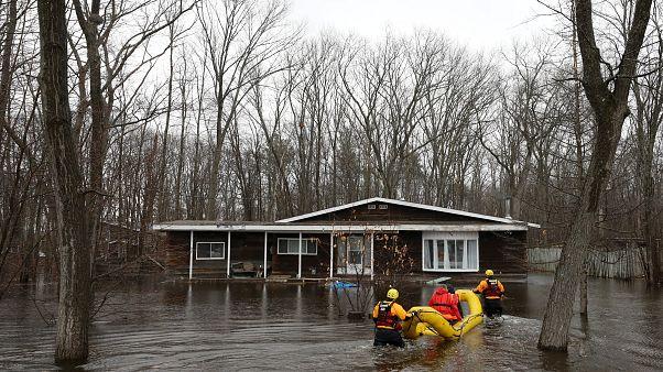 Режим ЧП из-за наводнений
