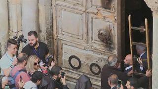 Orthodoxer Karsamstag in Jerusalem