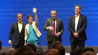Manfred Weber is részt vett a CDU/CSU kampánynyitóján