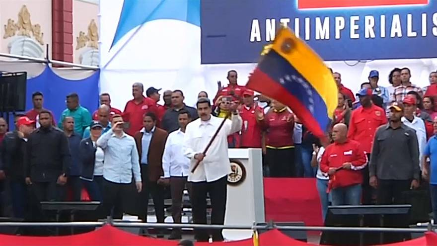 "Maduro feiert ""Austritt aus dem US-Ministerium der Kolonien"""