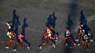 FILE PHOTO/Paris Marathon - Paris, France - April 14, 2019