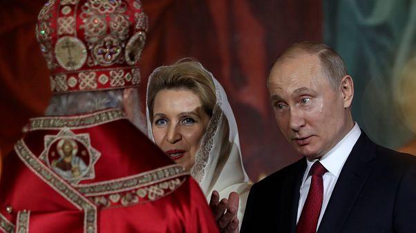 Orthodoxe Christen feiern ihr höchstes Fest