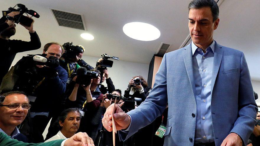 Spanien wählt, Sánchez zittert