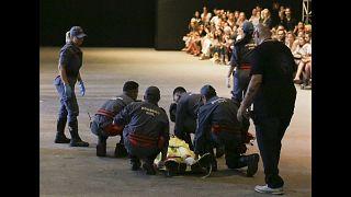 شاهد.. وفاة عارض أزياء على المنصة خلال أسبوع الموضة في ساو باولو
