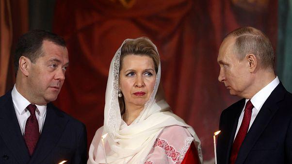 Μόσχα: Ο Πούτιν στην Ανάσταση