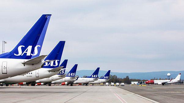 الخطوط الجوية الاسكندنافية تلغي أكثر 1200 رحلة