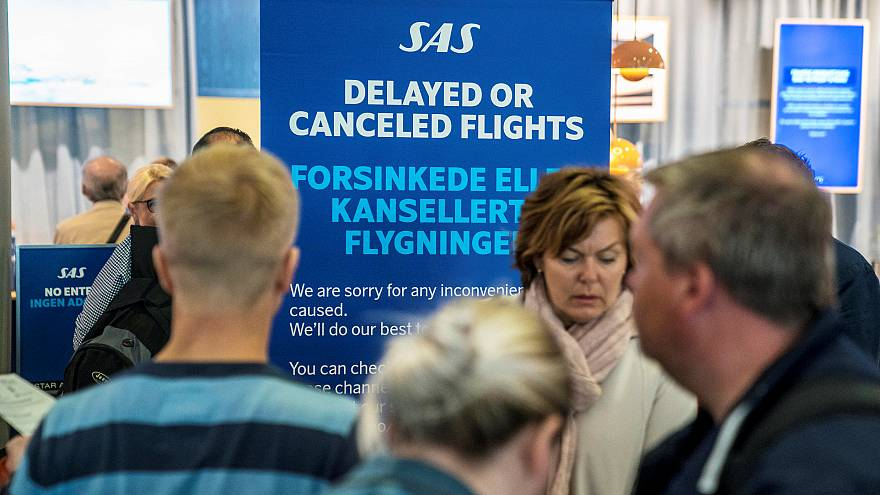 About 170,000 passengers have already been affected by the SAS strike.