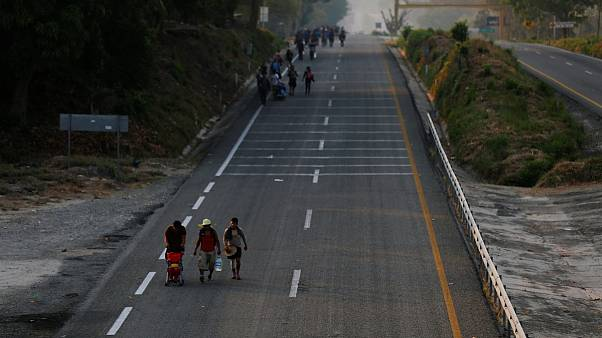 Pápai adomány a Mexikóban rekedt migránsoknak