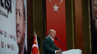 """Erdoğan'dan AK Parti'den ayrılarak seçime girenlere: """"İçimizdeki safralardan kurtulduk"""""""