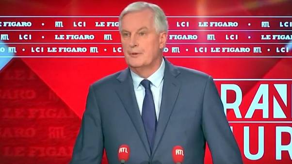 Michel Barnier was speaking on French television