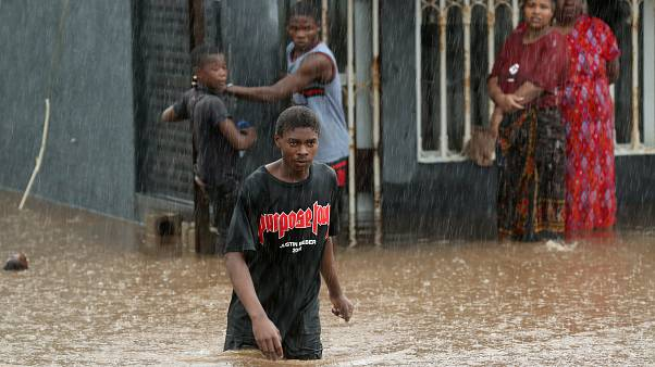 Mozambique hit by flooding in aftermath of Cyclone Kenneth