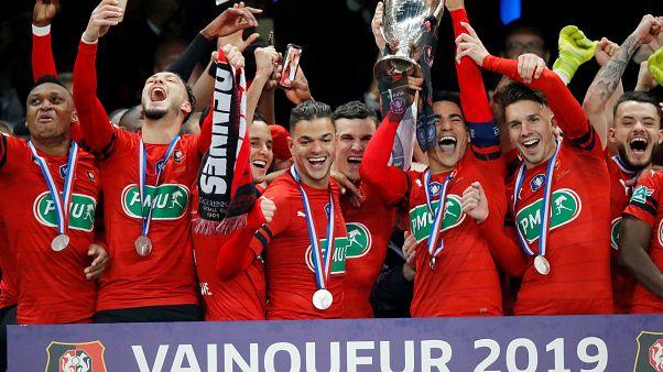 Coppa di Francia: sorpresa-Rennes, la squadra che non vinceva da 48 anni