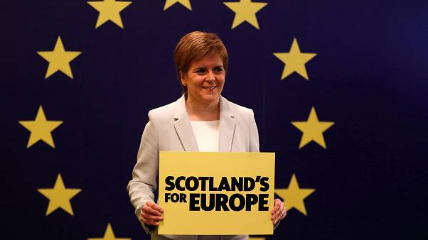 "Scottish independence: ""It's time,"" says SNP leader Nicola Sturgeon"