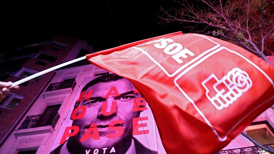 Ισπανία: Νίκη των Σοσιαλιστών χωρίς αυτοδυναμία